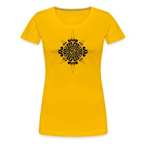 sun symbol 2 - Women's Premium T-Shirt