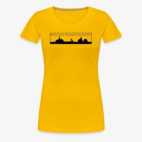 R.S.P.S. Rock Stack Distance - Women's Premium T-Shirt