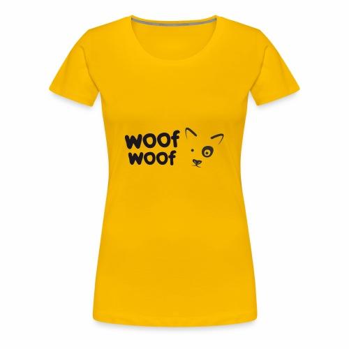 Woof Woof - Women's Premium T-Shirt
