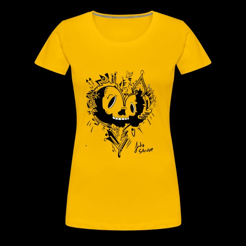 cubico skull - Women's Premium T-Shirt