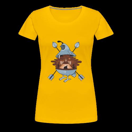 pigeon in the tent - Women's Premium T-Shirt
