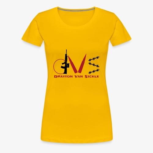 Drayton vansickle logo - Women's Premium T-Shirt