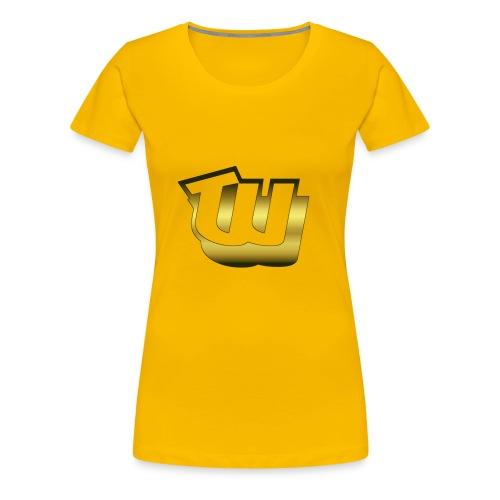 Official W1 Merch Store - Women's Premium T-Shirt