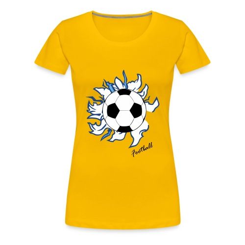 football - Women's Premium T-Shirt
