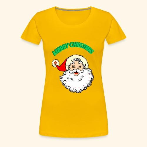 merry christmas santa claus - Women's Premium T-Shirt