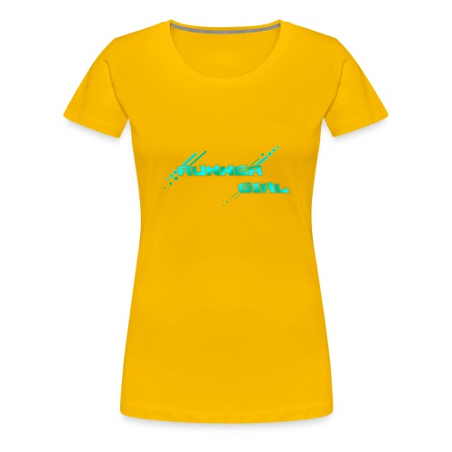 RUNNER GIRL OG - Women's Premium T-Shirt