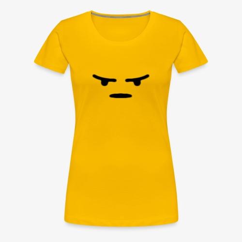 Angry React - Women's Premium T-Shirt