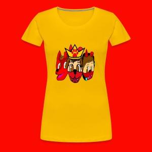 Furry, Normal, and Gamer KingRedDogChris - Women's Premium T-Shirt