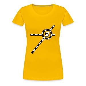 Yellow Exceler 3 - Women's Premium T-Shirt