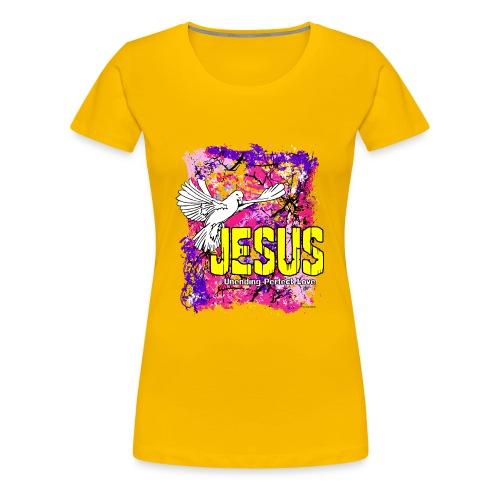 JESUS UNENDING PERFECT LOVE - Women's Premium T-Shirt