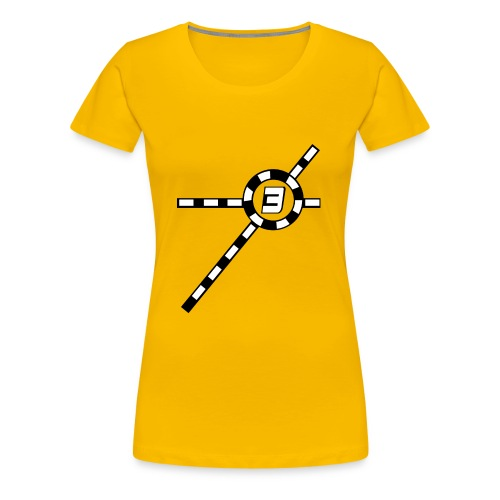 Yellow Exceler 3 - Women's Premium T-Shirt