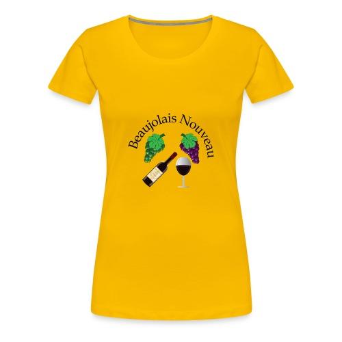 Beaujolais Nouveau Day Emar Design - Women's Premium T-Shirt