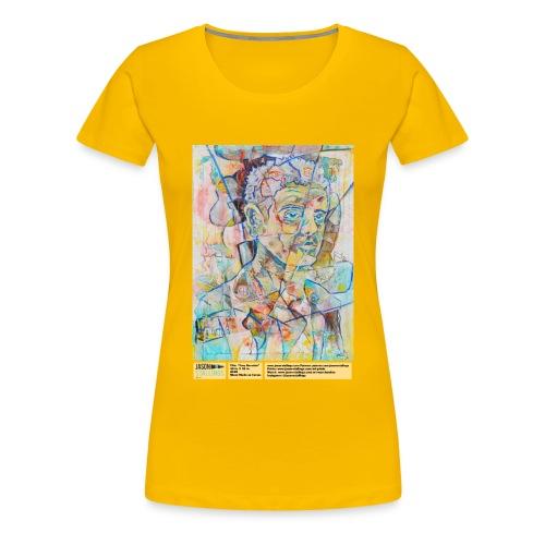 Tony Bourdain - Women's Premium T-Shirt