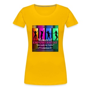 Woman Of Empowerment - Women's Premium T-Shirt