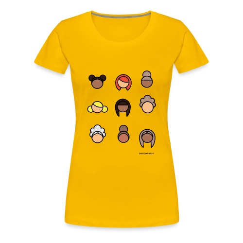 CHOCOLATE MILK Ladies - Women's Premium T-Shirt