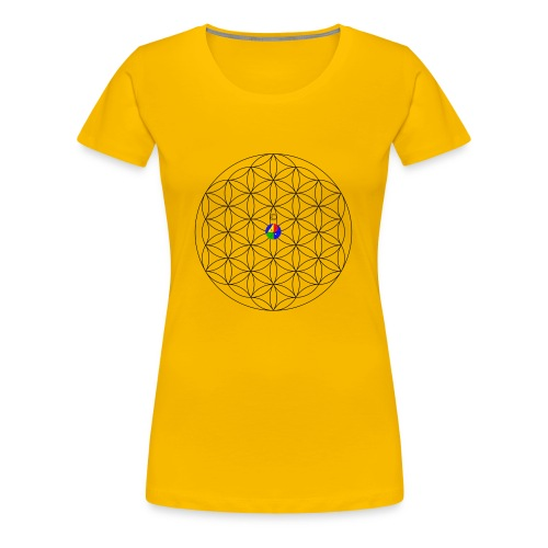 1200px-Flower-of-Life__aop-logo_light - Women's Premium T-Shirt