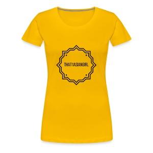 That1AsianGirl - Women's Premium T-Shirt