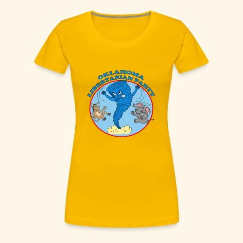 Oklahoma Libertarian - Women's Premium T-Shirt