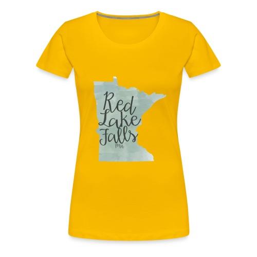 Red Lake Falls Long Sleeve Shirt - Women's Premium T-Shirt