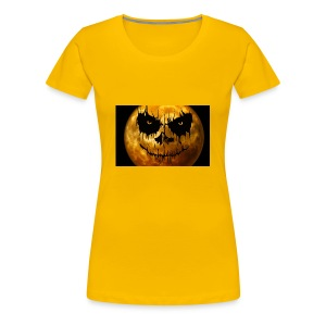 moon for halloween - Women's Premium T-Shirt