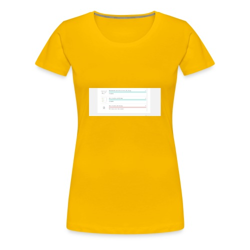 bulk_upload - Women's Premium T-Shirt