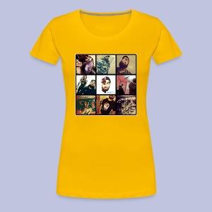 Throwback ART Mixtape Cover - Women's Premium T-Shirt