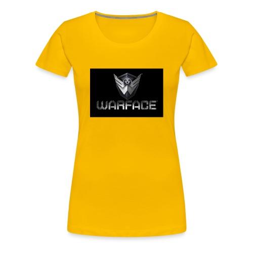 warface-logo - Women's Premium T-Shirt