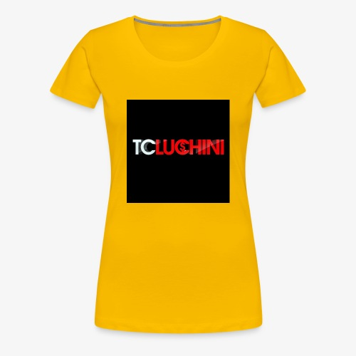 TC LUCHINI LOGO - Women's Premium T-Shirt