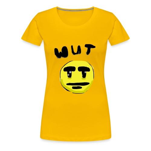 Wut Face - Women's Premium T-Shirt