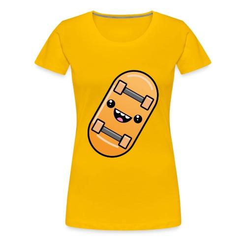 skateboard face - Women's Premium T-Shirt