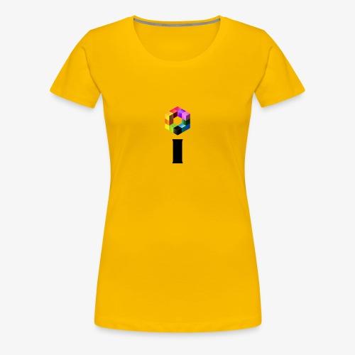 iBrick i logo - Women's Premium T-Shirt
