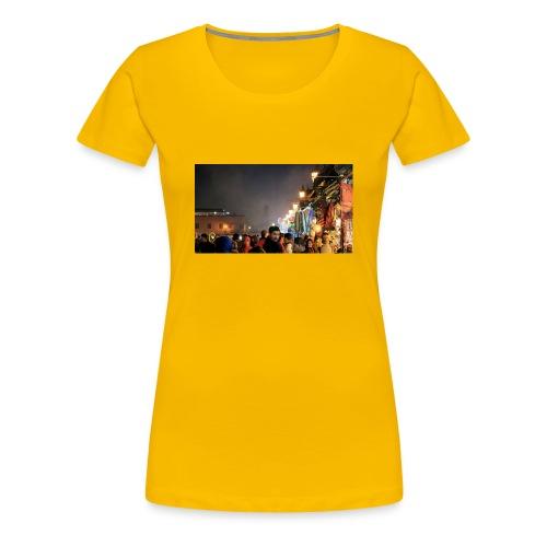Marrakech at Night - Women's Premium T-Shirt