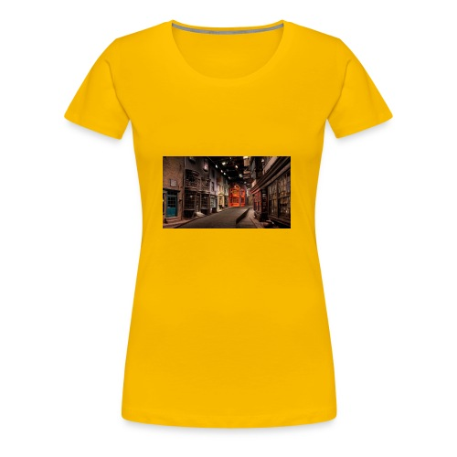 2013 2F07 2F04 2F2f 2FDiagonAlley 2fb68 - Women's Premium T-Shirt