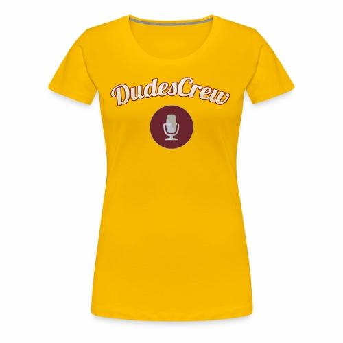 Dudes Crew Logo - Women's Premium T-Shirt