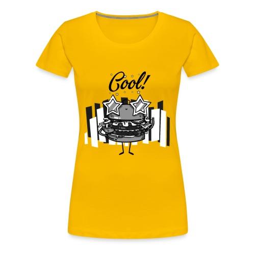 Cool Burger - Women's Premium T-Shirt