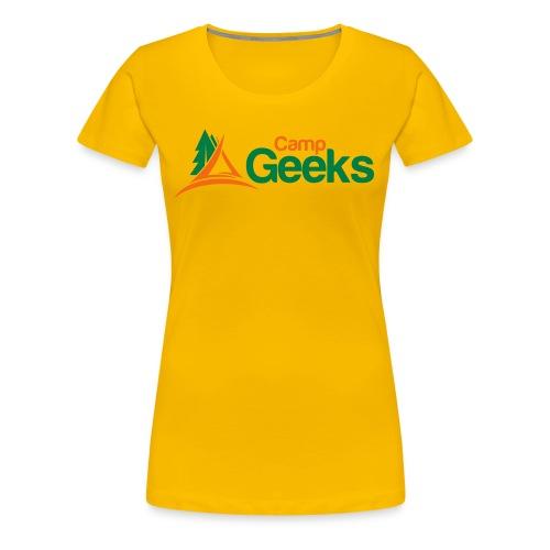 CampGeeks Logo - Women's Premium T-Shirt