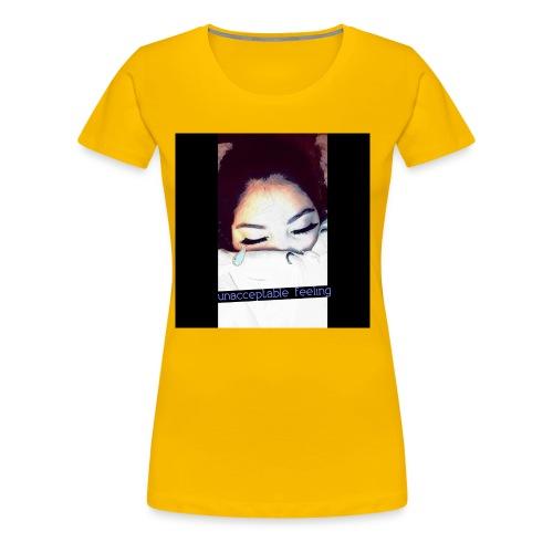 QUEEN G. GORGEOUS👄 - Women's Premium T-Shirt