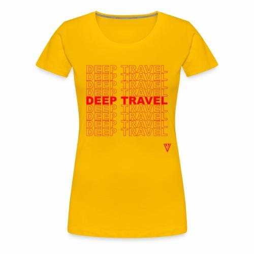DEEP TRAVEL - Women's Premium T-Shirt