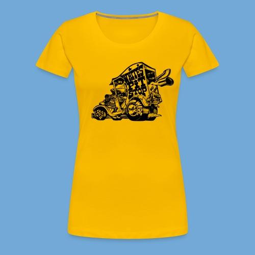 White's Pit Stop - Black - Women's Premium T-Shirt