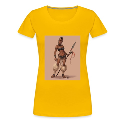 Female Warrior - Women's Premium T-Shirt