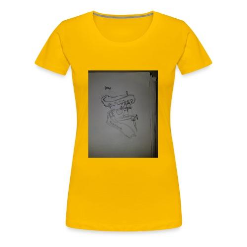 Tattoo Machine Hoodiez - Women's Premium T-Shirt