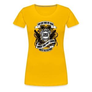 2nd Amendment Gun Rights - Women's Premium T-Shirt