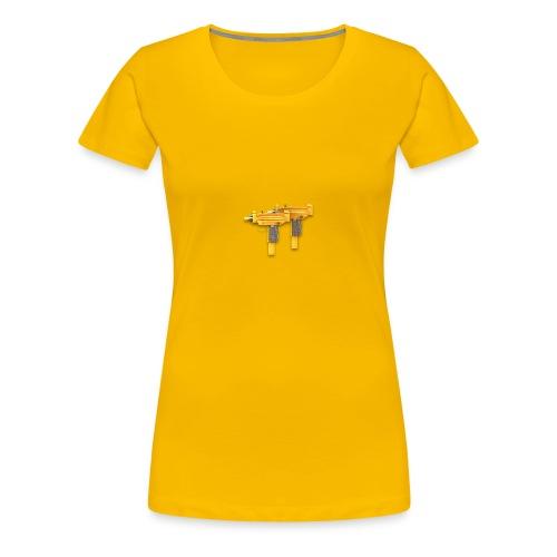uzicalls logo - Women's Premium T-Shirt