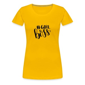 #Girl Boss - Women's Premium T-Shirt