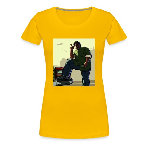 Big Smoke Sa - Women's Premium T-Shirt