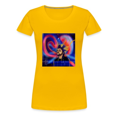 Everything better on the Weeknd - Women's Premium T-Shirt