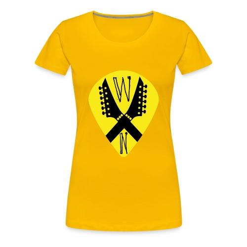 Noise Yellow Pick - Women's Premium T-Shirt
