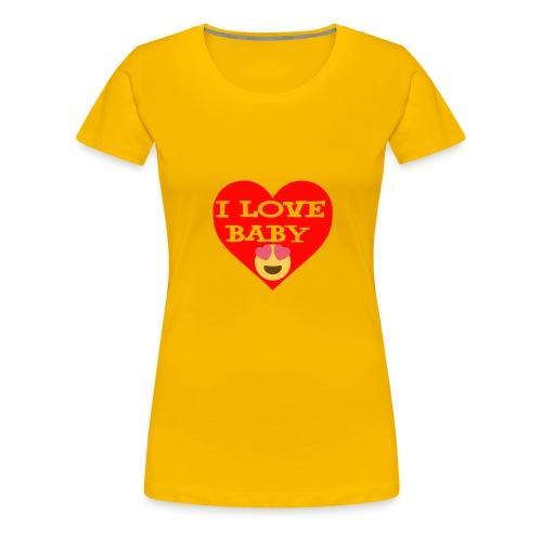 LOVE BABY - Women's Premium T-Shirt