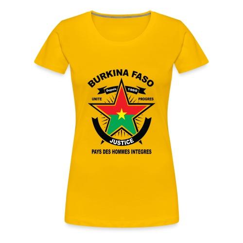 BURKINA_FASO - Women's Premium T-Shirt
