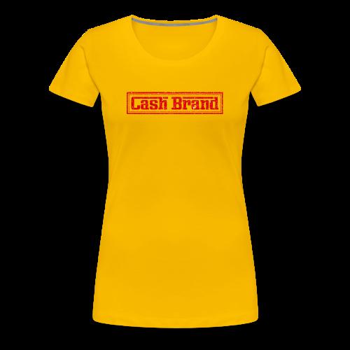 Cash Brand Graphic T - Women's Premium T-Shirt